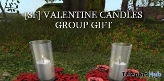Valentine Candles February 2019 Group Gift by Shutter Field- Teleport Hub - teleporthub.com