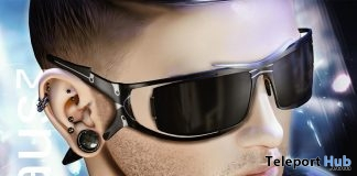 Synthetic Rebellion Glasses L'HOMME Magazine February 2019 Group Gift by Bauhaus Movement- Teleport Hub - teleporthub.com