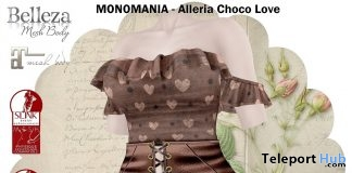 Alleria Choco Love Outfit February 2019 Group Gift by MONOMANIA- Teleport Hub - teleporthub.com