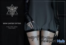Bow Garter Tattoo February 2019 Group Gift by Psycho Barbie - Teleport Hub - teleporthub.com