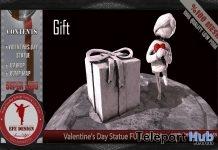 Valentines Day Statue Full Perm 1L Promo by EFE DESIGN- Teleport Hub - teleporthub.com