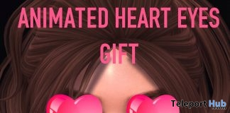 Animated Heart Eyes Valentine 2019 Gift by Junk Food - Teleport Hub - teleporthub.com
