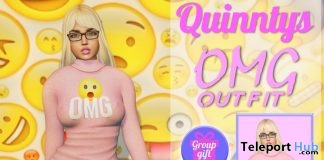 OMG Outfit March 2019 Group Gift by Quinnty's - Teleport Hub - teleporthub.com