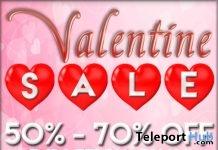 Akaesha Valentine Sale Event 2019- Teleport Hub - teleporthub.com
