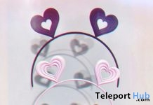 Heart Ears & Lollipop Headband 4 Pack February 2019 Gift by pr!tty- Teleport Hub - teleporthub.com