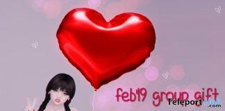 Heart Balloon February 2019 Group Gift by {jealousy}- Teleport Hub - teleporthub.com