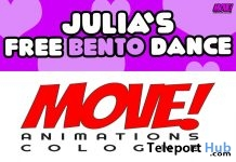 Julia 13 Bento Dance Gift by MOVE! Animations Cologne - Teleport Hub - teleporthub.com
