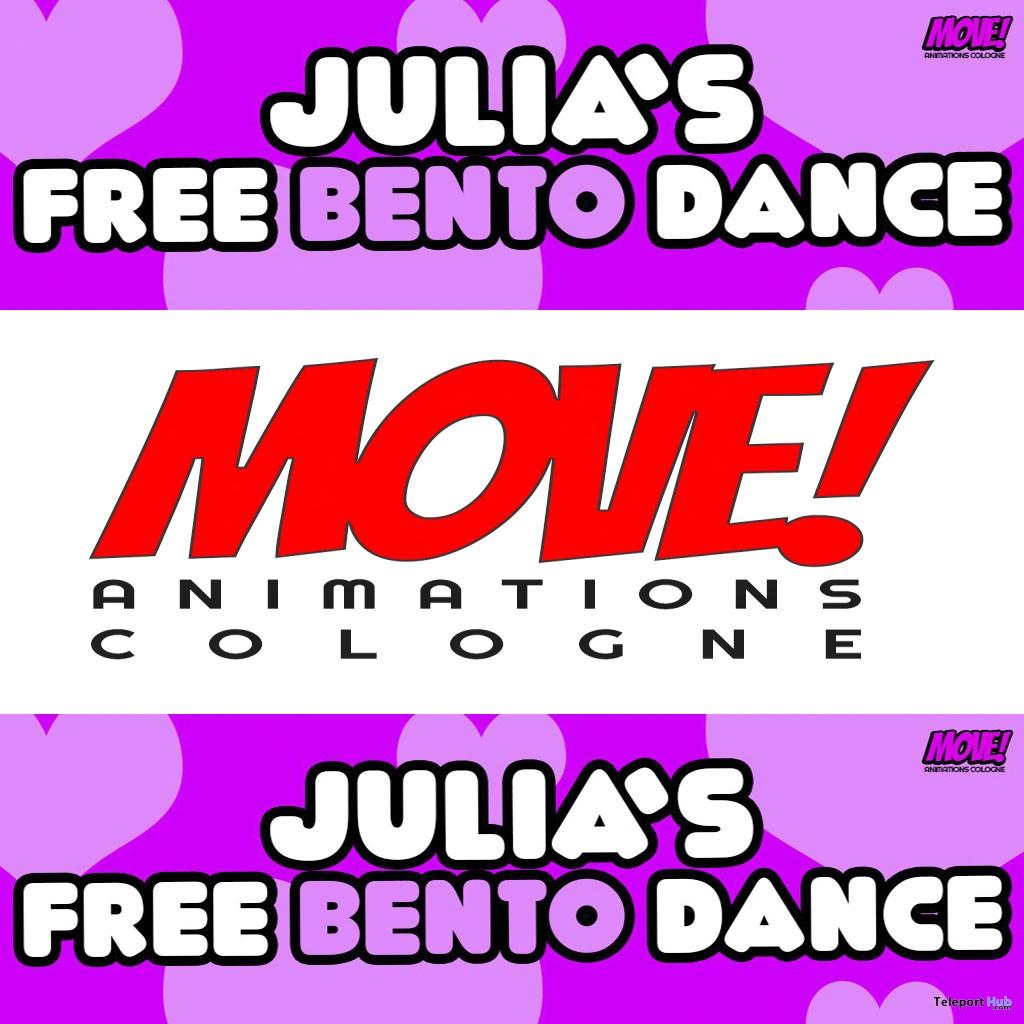 Julia 13 Bento Dance Gift by MOVE! Animations Cologne- Teleport Hub - teleporthub.com