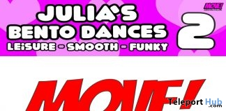 New Release: Julia Vol 2 Bento Dance Pack by MOVE! Animations Cologne - Teleport Hub - teleporthub.com