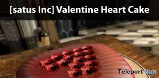 New Release: Valentine Heart Cake Ad by [satus Inc]- Teleport Hub - teleporthub.com