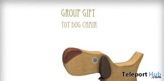 Toy Dog Chair February 2019 Group Gift by D-LAB - Teleport Hub - teleporthub.com