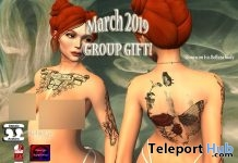 Body Tattoo March 2019 Group Gift by Bratz Custom Designz - Teleport Hub - teleporthub.com