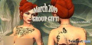 Body Tattoo March 2019 Group Gift by Bratz Custom Designz- Teleport Hub - teleporthub.com