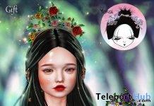Rose Garden Crown March 2019 Gift by Yokai - Teleport Hub - teleporthub.com