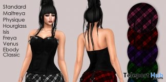 Rebecca Outfit March 2019 Group Gift by MOoH! - Teleport Hub - teleporthub.com