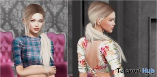 Gina Top Fatpack March 2019 Group Gift by Safira - Teleport Hub - teleporthub.com