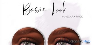 Basic Look Mascara Pack March 2019 Group Gift by Liberte- Teleport Hub - teleporthub.com