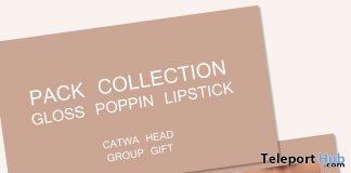 Gloss Poppin Lipstick Pack March 2019 Group Gift by Prada Beauty- Teleport Hub - teleporthub.com