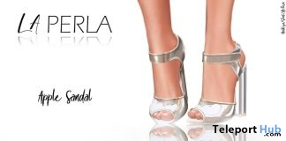 Apple Sandals 1L Promo by LA PERLA - Teleport Hub - teleporthub.com