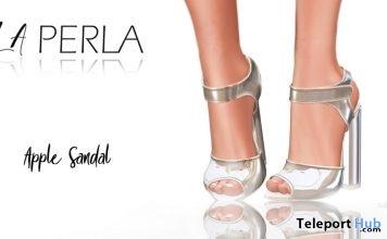 Apple Sandals 1L Promo by LA PERLA- Teleport Hub - teleporthub.com