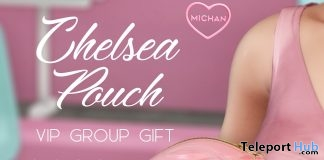 Chelsea Pouch March 2019 Group Gift by MICHAN- Teleport Hub - teleporthub.com