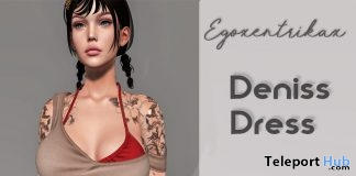 Deniss Dress March 2019 Group Gift by Egoxentrikax- Teleport Hub - teleporthub.com