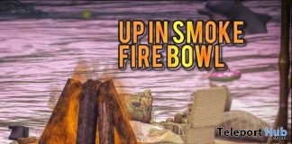 Up In Smoke Fire Bowl March 2019 Group Gift by crate- Teleport Hub - teleporthub.com