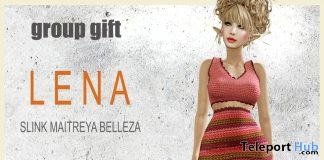 Lena Outfit March 2019 Group Gift by !gO!- Teleport Hub - teleporthub.com