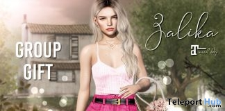 Zalika Outfit April 2019 Group Gift by Belle Epoque- Teleport Hub - teleporthub.com
