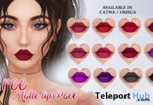 Bree Matte Lips 10L Promo by Viena- Teleport Hub - teleporthub.com