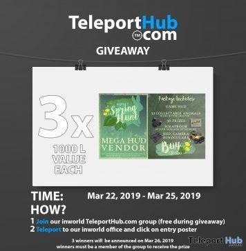 Madpea's Spring Hunt 2019 Mega Hunter Pack Giveaway- Teleport Hub - teleporthub.com