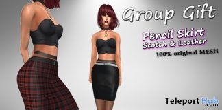 Pencil Skirts March 2019 Group Gift by Velvets Dreams - Teleport Hub - teleporthub.com