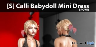 New Release: [S] Calli Babydoll Mini Dress by [satus Inc]- Teleport Hub - teleporthub.com
