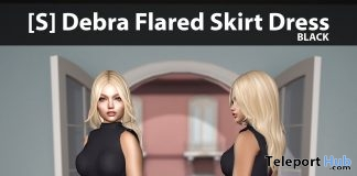 New Release: [S] Debra Flared Skirt Dress by [satus Inc]- Teleport Hub - teleporthub.com