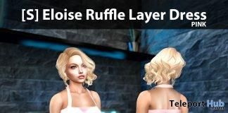 New Release: [S] Eloise Ruffle Layer Dress by [satus Inc]- Teleport Hub - teleporthub.com