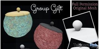 Full Perm Plain Cookie Jar March 2019 Group Gift by Sherbert- Teleport Hub - teleporthub.com