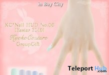 Camellia Peal Nail Applier No 3 April 2019 Group Gift by Kyoko Couture - Teleport Hub - teleporthub.com
