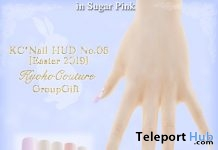 Easter 2019 Nail Applier No 6 April 2019 Group Gift by Kyoko Couture - Teleport Hub - teleporthub.com