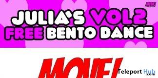Julia 27 Bento Dance Gift by MOVE! Animations Cologne- Teleport Hub - teleporthub.com