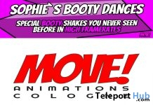 New Release: Sophie Booty Bento Dance Pack by MOVE! Animations Cologne - Teleport Hub - teleporthub.com