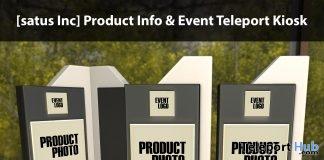 New Release: Product Info & Event Teleport Kiosk by [satus Inc]- Teleport Hub - teleporthub.com