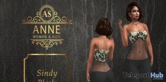 Sindy Black Outfit 10L Promo by Anne Store - Teleport Hub - teleporthub.com