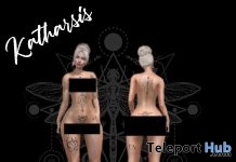 Ouija Tattoo April 2019 Group Gift by Katharsis - Teleport Hub - teleporthub.com