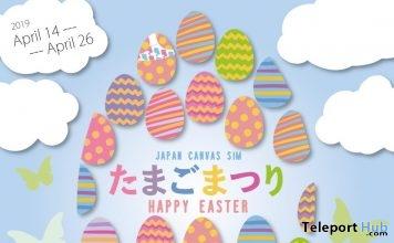 Japan Canvas Sim Easter Egg Hunt 2019- Teleport Hub - teleporthub.com