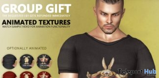 Men's Craig Animated Easter Top Easter 2019 Group Gift by HEC - Teleport Hub - teleporthub.com