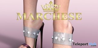 Amber High Heels April 2019 Group Gift by Marchese- Teleport Hub - teleporthub.com
