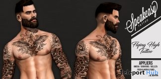 Flying High Tattoo April 2019 Group Gift by Speakeasy- Teleport Hub - teleporthub.com