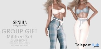 Mildred Outfit Set April 2019 Group Gift by Seniha Originals - Teleport Hub - teleporthub.com