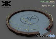 Skating Rink April 2019 Gift by kokoia - Teleport Hub - teleporthub.com