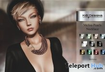Melisa Pearl Necklace On9 Event April 2019 Group Gift by KiB Designs - Teleport Hub - teleporthub.com